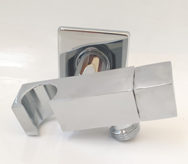 ANGLE VALVE BRASS WBRACKET SQUARE