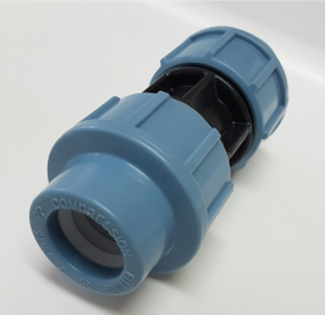 HDPE COUPLER STRAIGHT