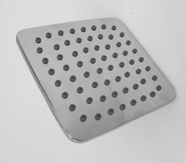 SHOWER ROSE 1 FUNCTION 100MM X 100MM SQUARE
