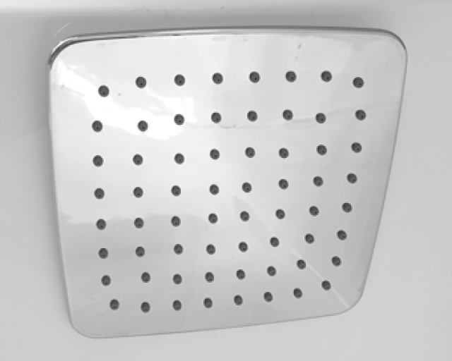 SHOWER ROSE 1 FUNCTION 150 X 150MM SQUARE