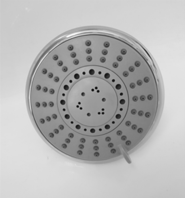 SHOWER ROSE 5 FUNCTION 120MM ROUND